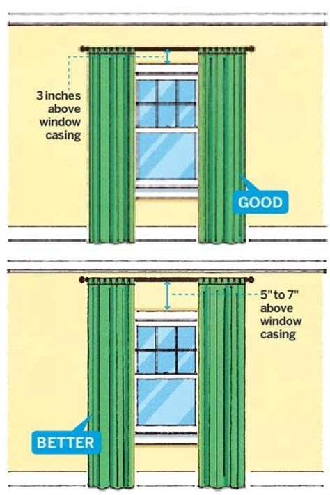 tips for hanging curtains 20 home decor cheat sheets that will have you decorate
