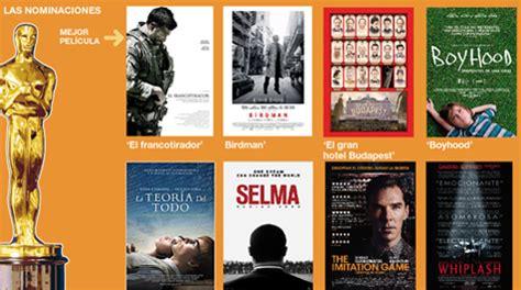 peliculas elegidas al oscar peliculas nominadas al oscar 2015 cinema