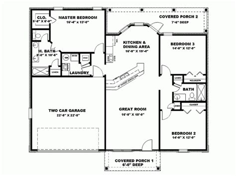 1500 square house plans 1500 square foot floor plans homes floor plans