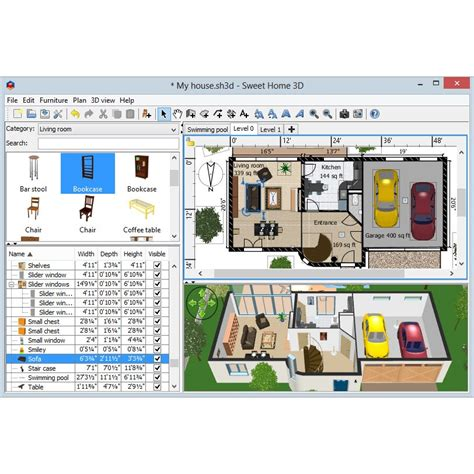 sweet home 3d design software reviews sweet home 3d alternatives for linux alternativeto net