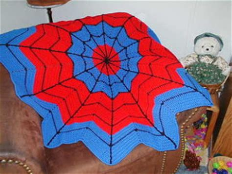 crochet pattern spiderman blanket cthulhu crochet and cousins my round ripple collection
