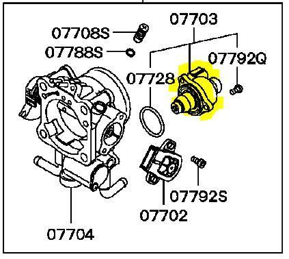 electronic throttle control 1993 mitsubishi montero engine control warm engine idles rough and stalls runs fine when cold