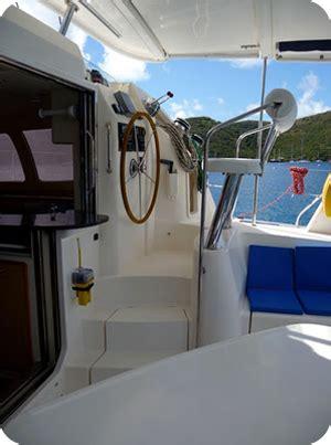 Helm Kyt Leopard yacht charter leopard 40