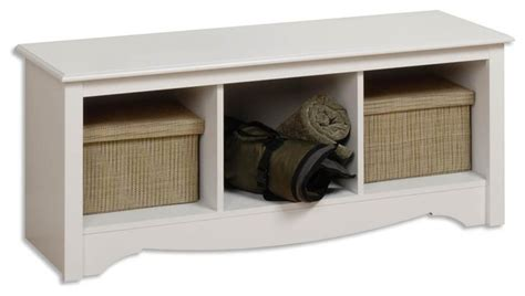 modern white entry bench entryway storage bench with 3 cubbies white