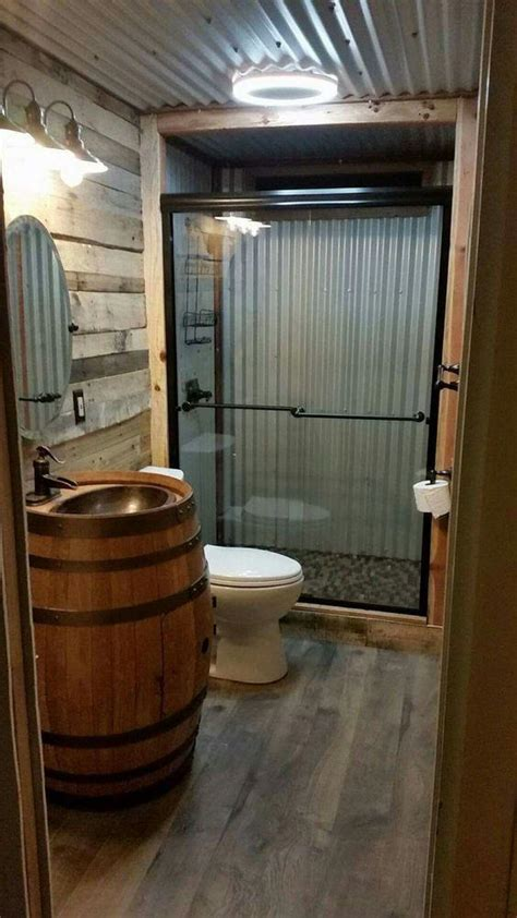complete your garage living space with a functional bathroom