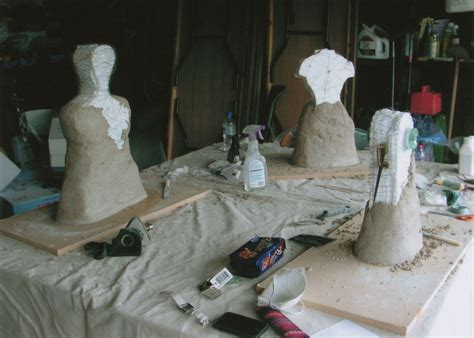 rose lloyd cement sculptures