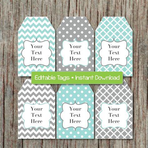 free printable editable gift tags search editable gift tags printable labels digital collage editable