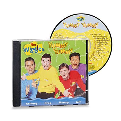 Bed Bath And Beyond Gift Registry The Wiggles Yummy Yummy Cd Buybuy Baby