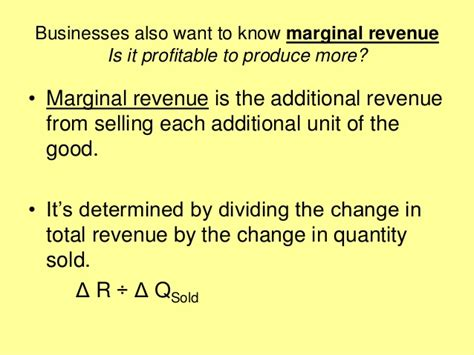 Mba 5102 Changing Times Business In The 21st Century by Mba 1 Me U 2 1 Business Costs And Revenues