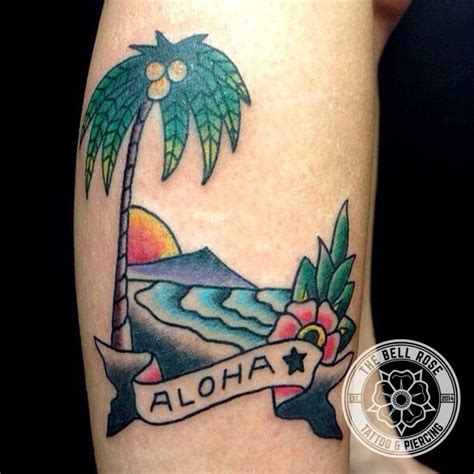 sailor rose tattoo sailor jerry quot aloha quot made by ted coburn at the bell