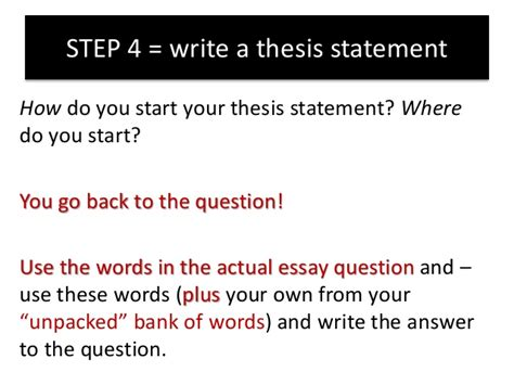 how to start a dissertation how to answer an essay question on the quot