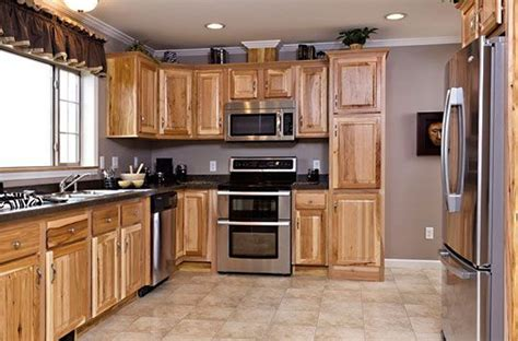Hickory Kitchen Cabinet Best Hickory Kitchen Cabinets Thediapercake Home Trend