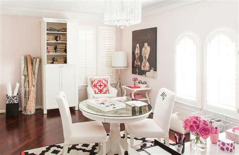 karen davis playful pink office office  sayeh