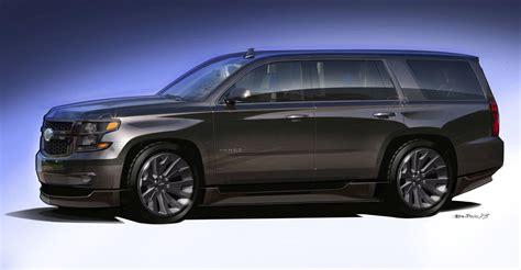 Chevrolet Unveils Tahoe, Suburban SEMA Concepts autoevolution