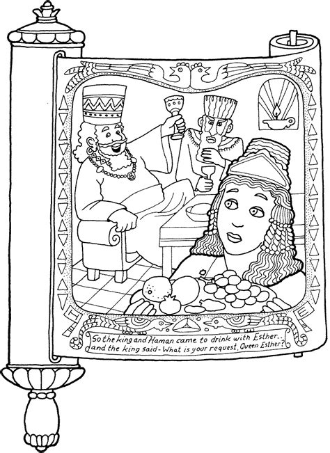 free coloring pages queen esther free coloring pages of esther