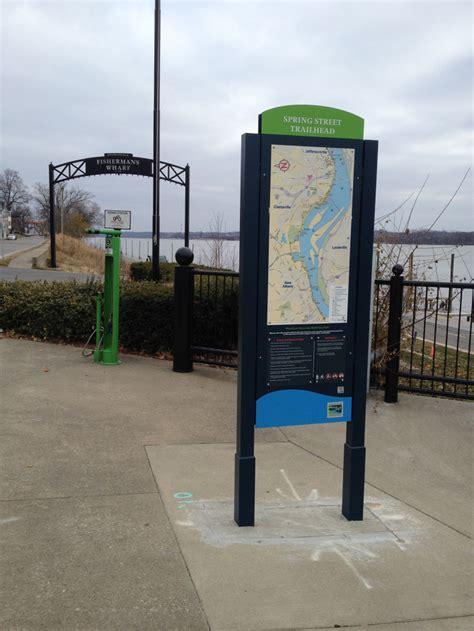 urban park signage snodgrass design
