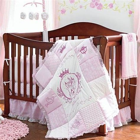 Disney Princess Baby Crib Disney S Princess 4 Bedding Set Subtle Princess Theme Influence For The Nursery