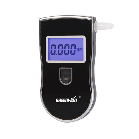 2016 new patent protable breathalyzer analyzer detector digital lcd breath tester