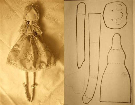 best 25 fabric doll pattern ideas on pinterest handmade