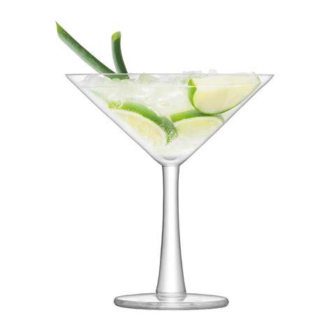 cocktail glass set buy lsa international gin cocktail glass set of 2 amara