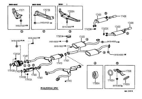 1991 lexus ls400 exhaust pipe