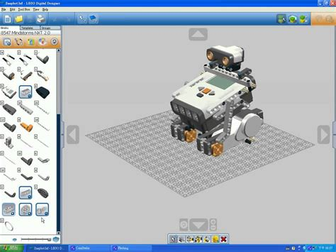 lego digital designer for lego mindstorms nxt 8547 youtube