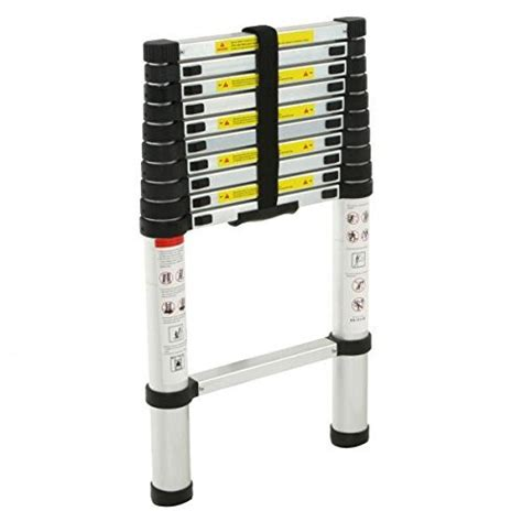 Telescoping L Changer by 12 5 Aluminum Telescopic Telescoping Loft Ladder
