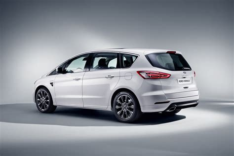 Ford Max Ford Luxes Up Edge Kuga Mondeo S Max With Vignale Makeover