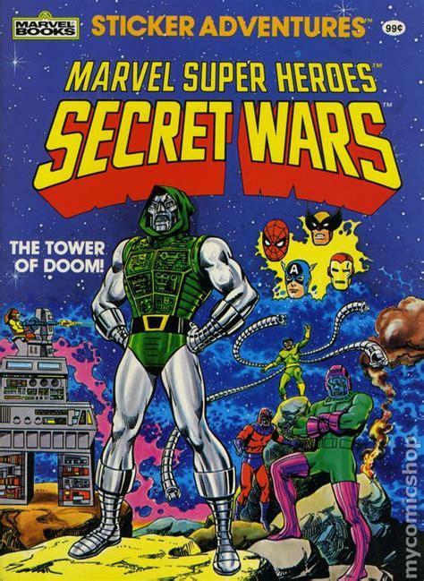 marvel super heroes secret wars a novel of marvel super heroes secret wars sticker adventures sc 1984 marvel books comic books