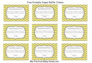 free printable raffle tickets my practical baby