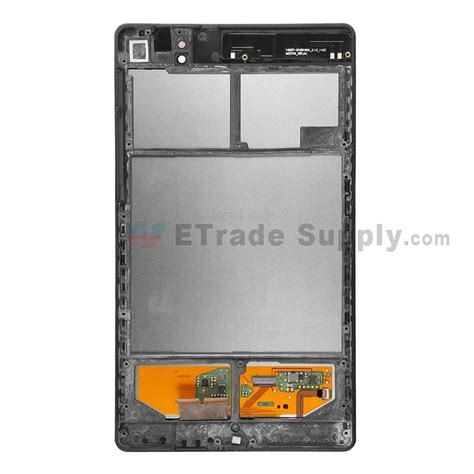 nexus 7 2013 front asus nexus 7 lcd and digitizer assembly with frame