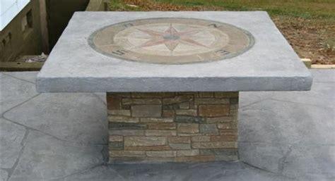 concrete layout jobs job by premiere concrete design llc compass medallion used