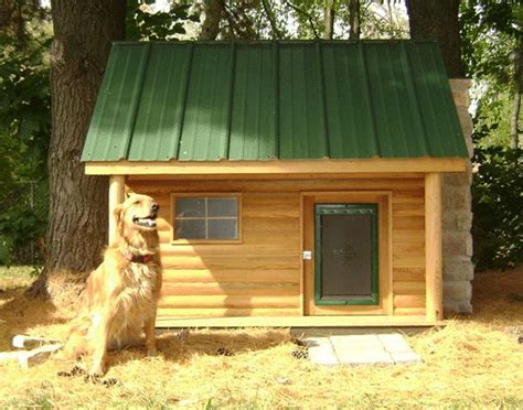 log cabin dog house dog cabin what i adore pinterest