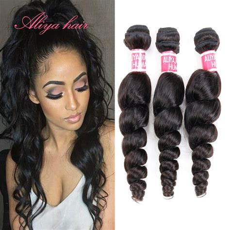 the best human hair to use for a sew in brazilian virgin hair loose wave 3 pcs lot best 6a