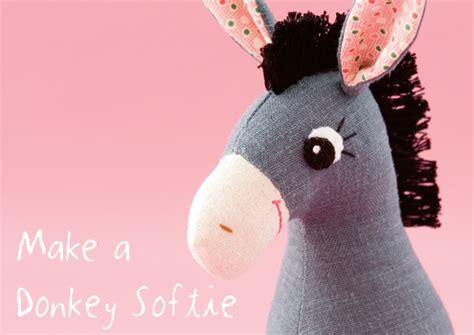 pattern for felt donkey donkey plushie patterns plushie patterns