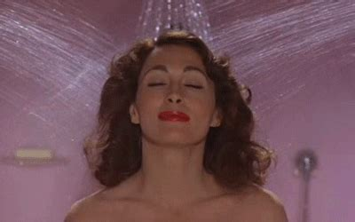 mommie dearest bathroom scene is washing your face in the shower bad yes and no