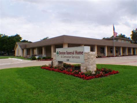 denton funeral homes home review
