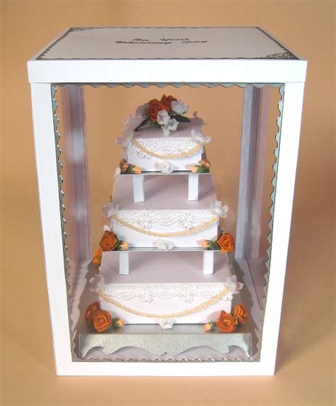 3 Tier Cake Card Template by A4 Card Templates For 3 Tier Wedding Cake Display