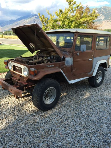original land cruiser 1978 fj40 land cruiser original stock classic toyota