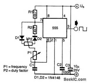 200971622420599 555 timer pulse generator circuit on high voltage servo wiring