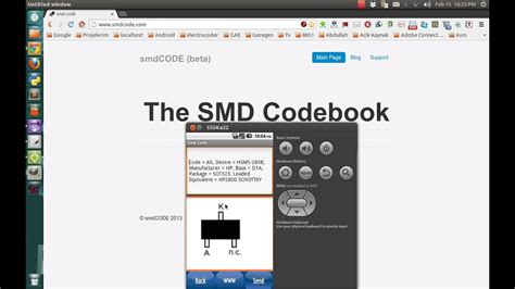 semiconductor smd code youtube