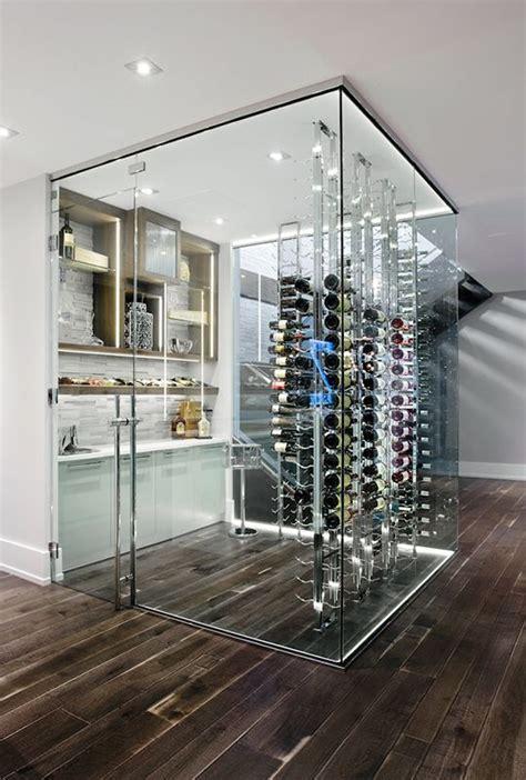 glass door wine storage creating an all glass wine cellar or room wine racks in