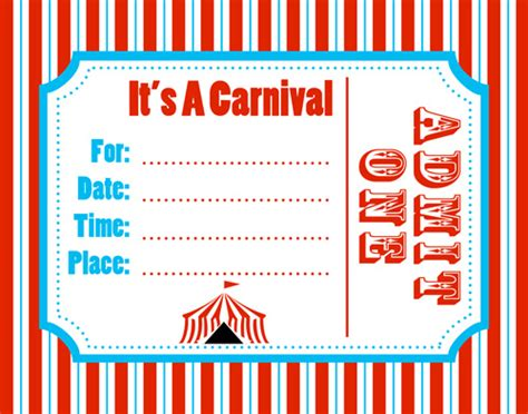 circus themed invitation templates the that rocks the cradle cheap easy carnival
