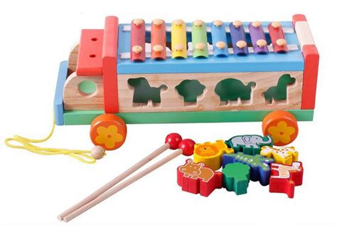 Best Seller Sembo Block Sd6612 15 Baby Shop Minifigure Set Isi 4 aliexpress buy baby toys 3 in 1 xylophone trailer blocks set wooden toys montessori infant