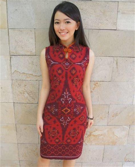 shanghai tea dress bright tenun batik kultur pretty dress tea dresses