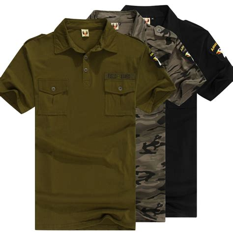 Polo Shirt Air 5 S Brand Camouflage Polo Shirt Tactical Coolmax