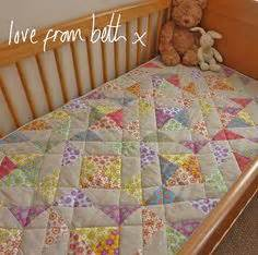 Free Patchwork Cot Quilt Patterns - colchas de cuna on baby quilts baby boy