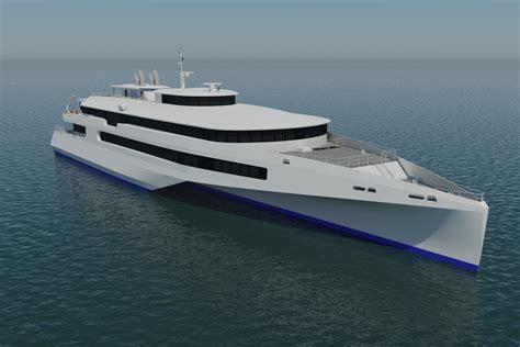 trimaran ship austal signs mou for japanese trimaran business news
