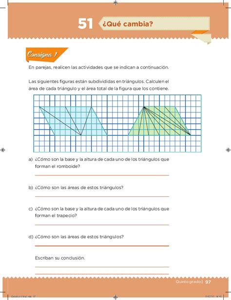 libro de matematicas pagina 97 a la 116 contestado quinto desaf 237 os matem 225 ticos bloque 3 191 qu 233 cambia