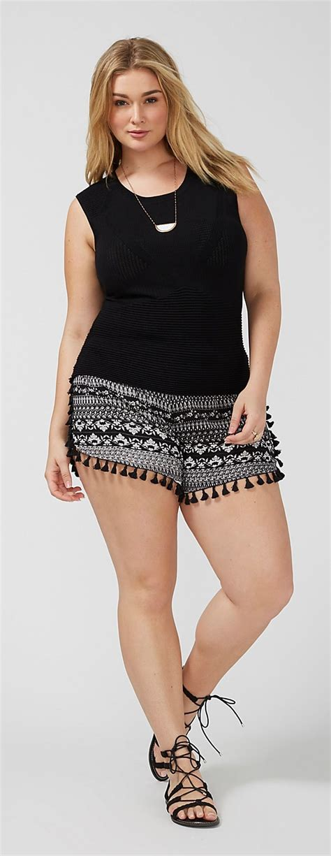 pinterest fashion for curvy women over 40 25 best ideas about plus size shorts on pinterest